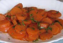 salade de carottes au cumin WW