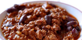 Chili Con Carne au Thermomix