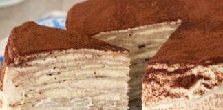Gâteau de Crêpes Façon Tiramisu au Thermomix