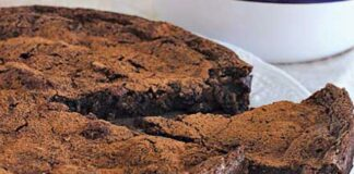 Moelleux au chocolat et mascarpone au Thermomix