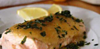 Saumon à la Sauce au Miel au Thermomix