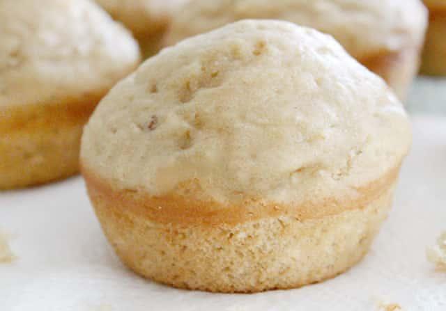 muffins au yaourt et beurre de cacahuète WW
