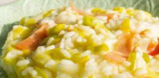 risotto aux poireaux et jambon au Thermomix