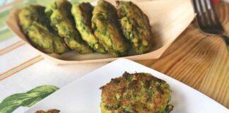 galettes aux asperges vertes WW