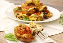 muffins aux œufs et aux légumes WW