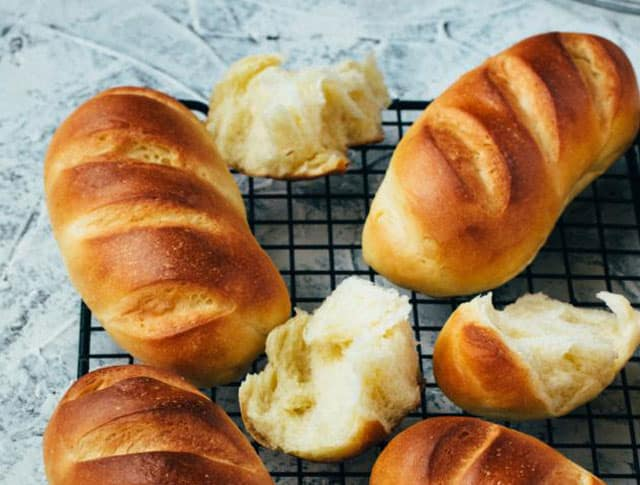 pains au lait concentré au Thermomix
