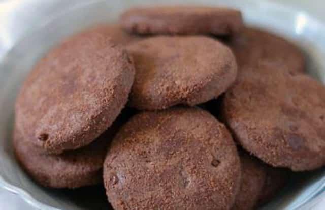 sablés légers au cacao WW