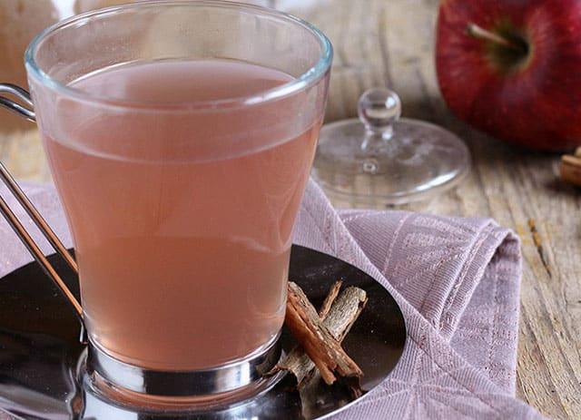 tisane aux pommes et cannelle au Thermomix