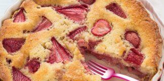 Gâteau Léger aux Fraises WW