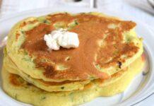 Pancakes Légers aux Courgettes WW