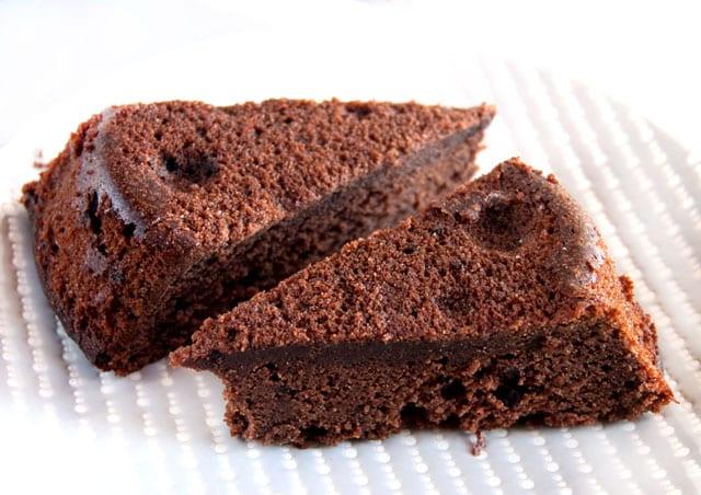 gâteau au chocolat léger de Pâques WW