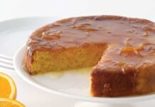 gâteau moelleux à l'orange au Thermomix