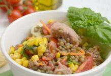 salade aux lentilles et au thon WW