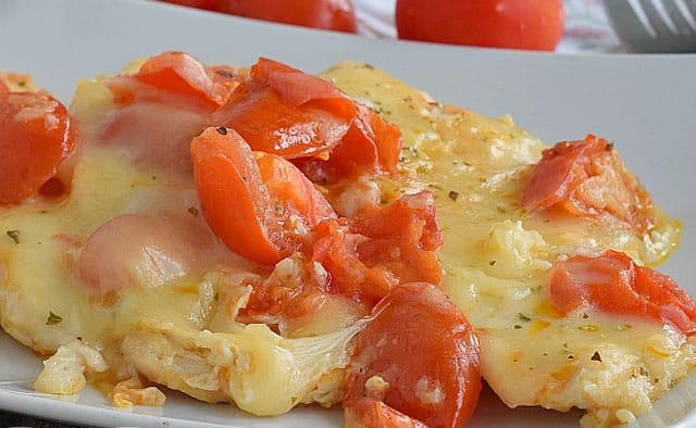 Escalope de Poulet aux Tomates Cerises au Four WW