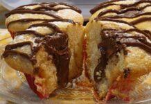 muffins au mascarpone et au nutella au Thermomix