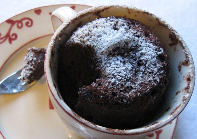 Mug Cake au Yaourt et au Cacao WW