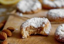 biscuits croquants aux amandes et citron au Thermomix