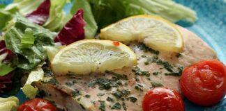 papillote de saumon au citron et à l'ail WW