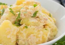 salade de pomme de terre au thon WW