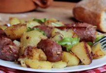 Saucisse aux Pommes de Terre au Four WW