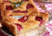 tarte à la frangipane et aux fraises au Thermomix