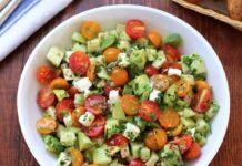 Salade avocat tomate