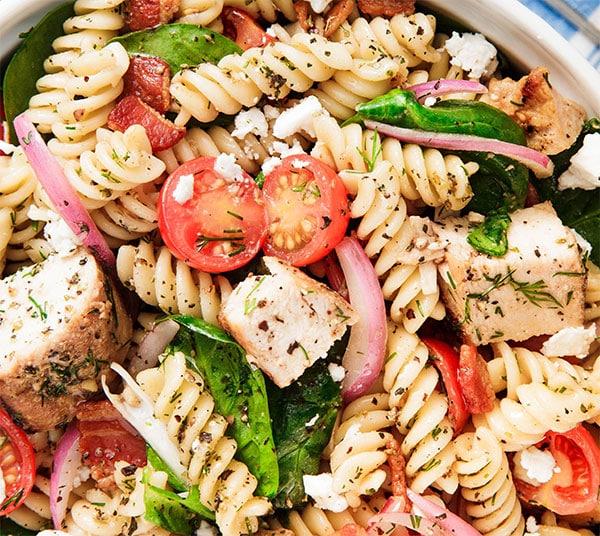Salade de pâtes légère