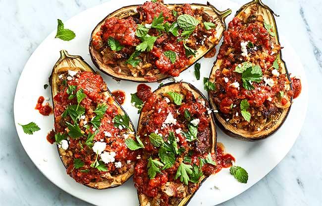5 recettes pour cuisiner l'aubergine