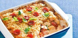 Gratin de gnocchis aux tomates