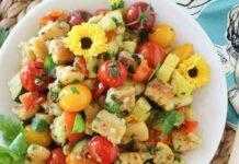 Salade de gnocchis et légumes