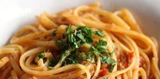 Spaghettis à la sauce au thon