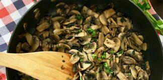 Poêlée de champignons à l'ail et au persil