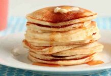 Recette facile Pancakes Thermomix