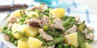 Salade pomme de terre thon