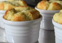 Soufflé fromage Thermomix