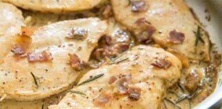 escalopes poulet sauce moutarde
