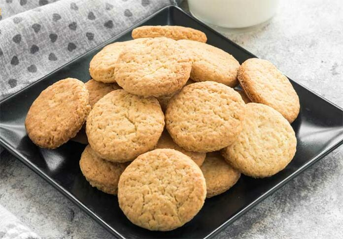 Biscuits sans oeufs ni beurre