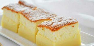 Gâteau magique arôme citron
