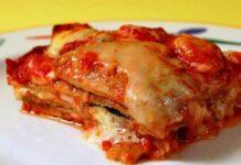 Parmigiana légère légumes