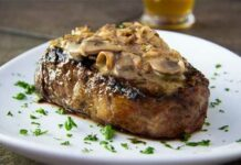 Steaks champignons