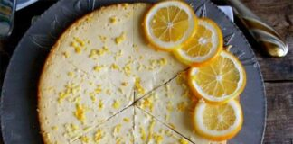 Gâteau au Skyr et citron
