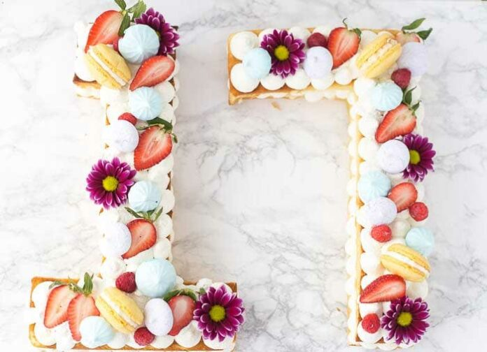 Number cake avec Thermomix