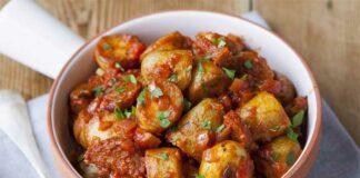 Pommes de terre à l'espagnole au Thermomix