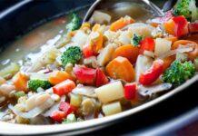 Soupe de légumes détox