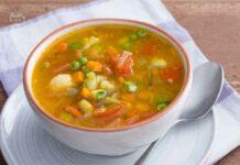 Soupe légère spéciale hiver