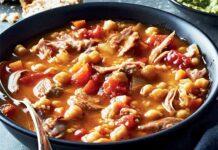 soupe au boeuf boulghour et légumes