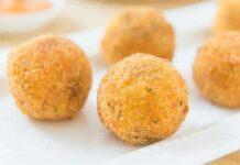 Croquettes de pomme de terre au poule