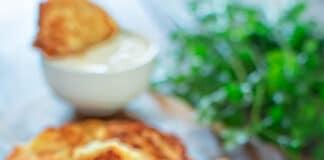 Galettes de pomme de terre au fromage frais et ricotta