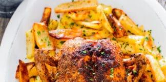 Poulet rôti aux pommes de terre