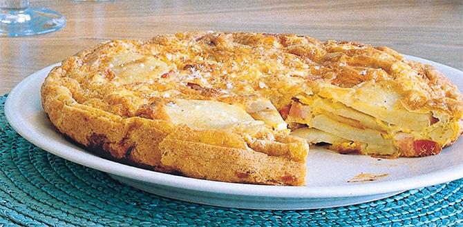Tortilla aux pommes de terre au Thermomix